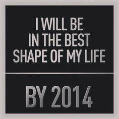...by the end of 2014, working hard!