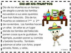 DIA DE LOS MUERTOS DAY OF THE DEAD - TeachersPayTeachers.com