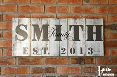 Hey, I found this really awesome Etsy listing at http://www.etsy.com/listing/165184854/last-name-sign-last-name-established