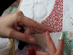 Hand Quilting 4 -- Thimbles - YouTube