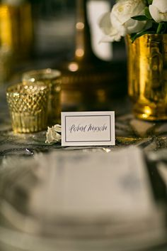 Luxury Wedding Styled Shoot at Aria in CT captured by Danny Kash Photography and featured on Reverie Gallery Wedding Blog. Luxury Wedding, Wedding Blog, Place Cards, Place Card Holders, Table Decorations, Gallery, Photography, Photograph, Roof Rack