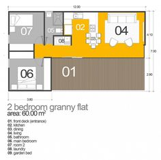 Blue Gum Granny Flats two bedroom granny flat designs are by far our most popular in Sydney, we have over 12 plans you can choose from, all customisable!