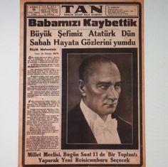 """""""10.Kasım.1938 #atatürk#önder##10#kasım#1938#devrimci#komutan#cumhurbaşkanı#devletadamı#lider#türk#başkomutan#tangazetesi#"""""""