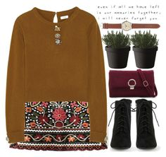 Misty memories by mihreta-m on Polyvore featuring Issa, J.Crew, Muuto, Love Quotes Scarves and vintage