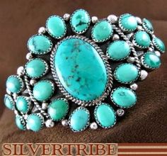 Native American Turquoise Jewelry Sterling Silver ...