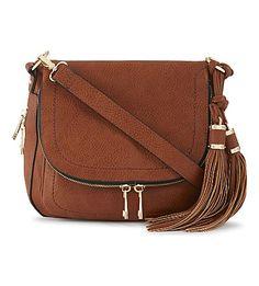 b2708475a ALDO - Kahaluu leather saddle bag | Selfridges.com Leather Saddle Bags,  Brown Leather