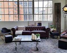 Dreamy white apartment with industrial vibes - Daily Dream Decor