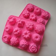 silicone cake mold soap mold chocolate mold sicone by EvaFashion, $3.95