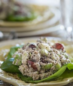 Raw Mock Tuna Salad. Flavorful and protein-packed, but fish-free!