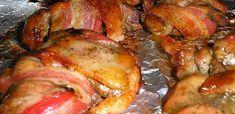 Karácsonyi fogások: 10 húsétel, amit imádni fog a vendégsereg - Receptneked.hu - Kipróbált receptek képekkel Chicken Wings, Bacon, Pork, Food And Drink, Tasty, Meat, Desserts, Advent, Cookies