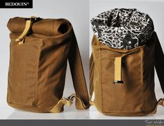 BEDOUIN - Delireis roll top backpack by Taylor Welden / Industrial Designer at Coroflot.com
