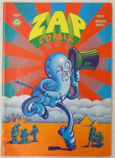 Zap Comix 4 1969 2nd Printing Apex Novelties R Crumb Shelton Rodriguez More | eBay