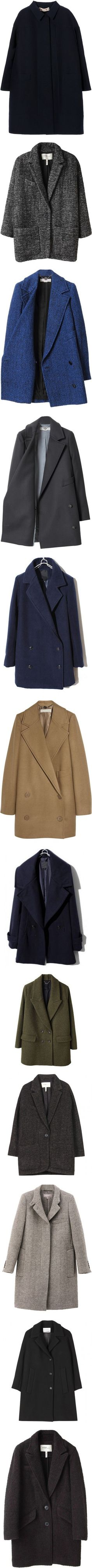 """""""Coats"""" by nobko ❤ liked on Polyvore"""