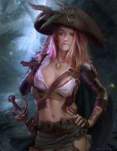 Pirate pin up