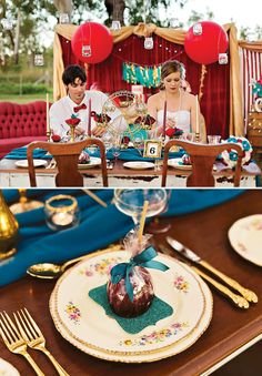 Fabulous Vintage Carnival Wedding Theme