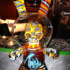 Beautiful Dunny by Capn' Crunk on an Oil Slick Pad   #oilslick #oilslickpad #oilslickpads