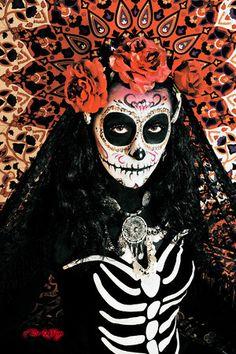 DIA De Los Muertos Makeup | Dia De Los Muertos Makeup Shoot - #1570804924 - De La Vega Photography ...