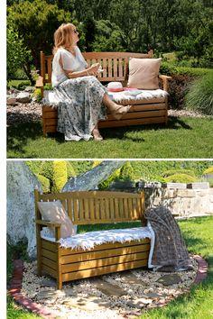 Všestranná lavička 🧡AMULA🧡 dodá vašej záhrade prirodzený šarm. Očarila aj vás? 😍 #zahrada #zahradnalavica #terasa #leto