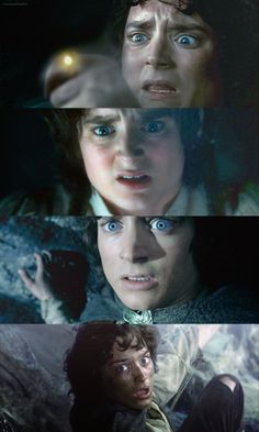 Frodo - the funniest faces in The Shire!