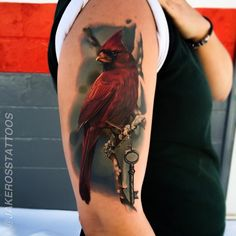 Realistic tattoo - It's hard to believe that this is actually a real tattoo. #TattooModels #tattoo