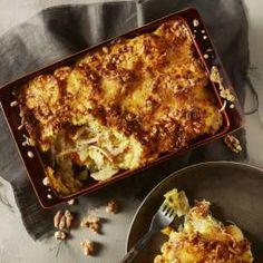 Zuurkoolschotel met kip, kaas en abrikozen – Boodschappen