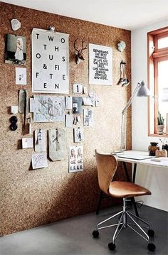 Home Office de coração. Home office | attic | loft | home work space | work from home | business tips | meeting spaces | home decor | dorms