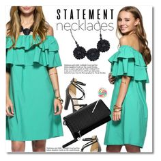"""Collared! Statement Necklaces"" by svijetlana ❤ liked on Polyvore featuring polyvoreeditorial, statementnecklaces and twinkledeals"