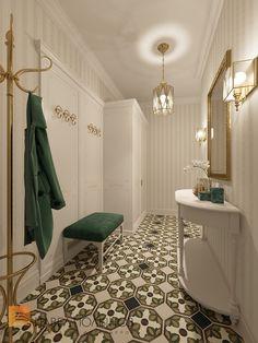 Фото: Прихожая - Квартира в классическом стиле, ЖК «Академ-Парк», 136 кв.м.