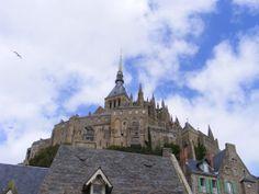 Mont St. Michel Fine Art Print, 8 x 10, view of the Abbey