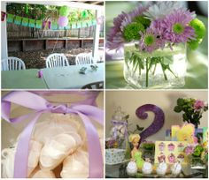 fairy party decorations ideas | All Things Elise & Alina: Elise's Second Birthday - Tinkerbell Party