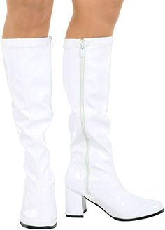 6e7042b76ed8a NEW LADIES WOMENS FANCY DRESS PARTY GO GO BOOTS 1960s   1970s RETRO ALL  SIZES (