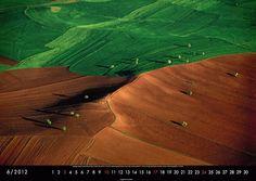 """Aus dem Kalender: """"Die Erde von oben 2012"""" von Yann Arthus-Bertrand"""