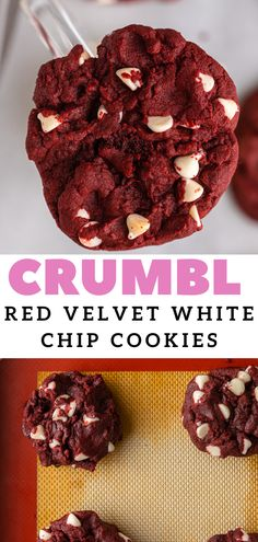 Desserts With Chocolate Chips, White Chocolate Chip Cookies, The Best Chocolate Chip Cookies Recipe, White Chocolate Recipes, Red Velvet Cookies, Chocolate Morsels, Best Dessert Recipes, Sweet Recipes, Cat Recipes