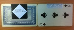 Playing Card Business Cards ... My favorite so far!