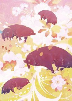 Summer Creatures By Jonnakonna