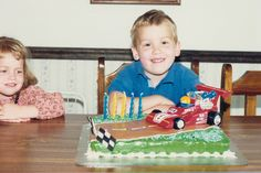 5th in Birthday Cake Creations series: Racing right along . . .