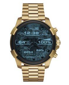 Sehen edel aus und lassen sich individualisieren: Die Diesel-Smartwatch von Fossil.