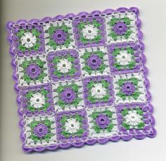 Dollhouse Miniature Afghan Bedspread Cover by BlackLeopardCreation, $18.00