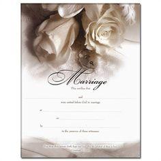 marriage certificate romance rose weddingdepotcom 102 79497 measures 8x10 and