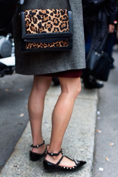 Leopard bag for any clothing