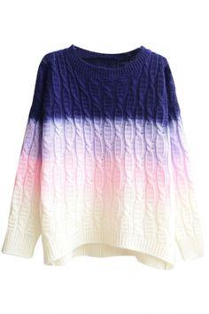 art-is-art-is-art:  Ombre Sweater - #Art #LoveArt http://wp.me/p6qjkV-6Xl