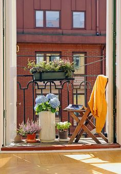 188 Best Wohnideen Balkon Images Gardens Home Garden Tiny Balcony