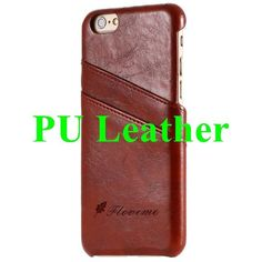 Business Style Luxury Leather Case For iPhone 6 6s Plus Cover Fashion Wallet Card Holder Shell Funda For iPhone 7 7 Plus Case