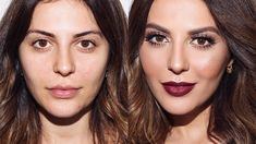 Fall Makeup Tutorial with Bold Lip I Sona Gasparian