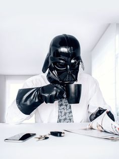 Photos of Darth Vader's Rather Ordinary Daily Life by Paweł Kadysz of Bialystok, Poland