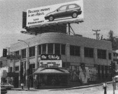 WHISKY A-GO-GO SHOW LIST 1966-1970