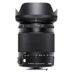 Sigma NAF 18-300mm f/3.5-6.3 C DC OS MACRO -objektiivi