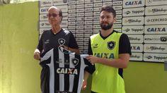 BotafogoDePrimeira: João Paulo é apresentado no Botafogo e garante faz...