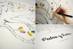 Blog de los detalles de tu boda | Libros de firmas con huellas dactilares | http://losdetallesdetuboda.com/blog