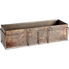 GironaRailNFrameGroupAV3S18 use planter for ice box on patio railing
